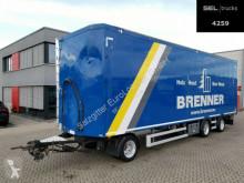 Schwarzmüller moving floor semi-trailer Knapen KAC200 / Alu-Felgen