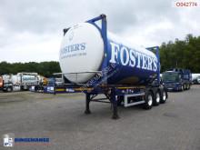 Naczepa Dennison container trailer + beer tank container 20 ft / 28.7 m3 do transportu kontenerów używana