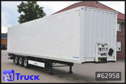 Krone box semi-trailer SDK 27 Koffer, LBW, 1+3. Liftachse, TÜV 09/2022