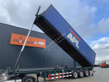 Semitrailer LAG 40FT Tipping-chassis, ADR, Intradisc, liftaxle, own hydraulic, 4 hoses, Alcoa, TOP-condition containertransport begagnad