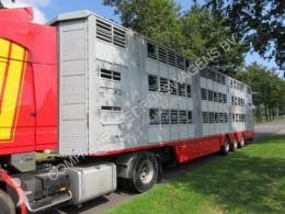 Semi remorque bétaillère bovins Pezzaioli SBA 62 U