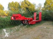 Masso heavy equipment transport semi-trailer PORTE CHAR 1 essieu