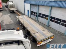 Semi remorque plateau MAX Trailer gestuurde uitschuifbare trailer