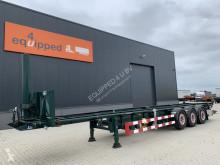Naczepa Van Hool TOP, 40FT Tipping-chassis, intradisc, liftaxle, own hydraulic, 4 hoses, Alcoa, 85% tires do transportu kontenerów używana