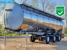 Sættevogn Burg 37.000 Ltr Pump / Screw / Weighing / Steeraxle citerne brugt