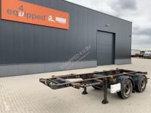 Semirremolque Krone 20FT ADR-Chassis, empty weight: 3.250kg, BPW+drum, 75% tires portacontenedores usado