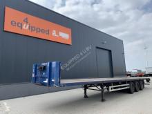 Trailer Pacton Platform, hardhouten vloer, schijfremmen, APK 02/2022 tweedehands platte bak