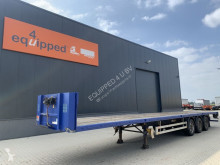 Semitrailer Pacton Platform, hardhouten vloer, schijfremmen, APK 02/2022 platta begagnad