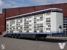 Semi remorque bétaillère bovins Pezzaioli 3/4 deck - 132M2 - Water & Ventilation - Lifting roof - Shields - Heating