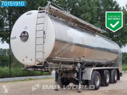 Semirimorchio cisterna trasporto alimenti Magyar 34.000 Ltr Liftachse 2x Lenkachse 1 Comp.