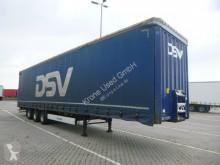 Semitrailer Krone SDP Mega Schiebeplanen Sattelauflieger 27 eLG4-CS skjutbara ridåer (flexibla skjutbara sidoväggar) begagnad