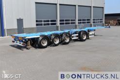 Semitrailer containertransport D-TEC CT-43-04D | 2x20-30-40-45ft HC * 20ft CENTRAL * LIFT AXLE