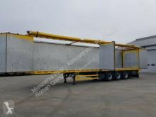 Semirimorchio fondo mobile Reisch Walkingfloor SIDE DOORS 2011 year 10 mm floor