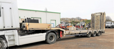 Semirimorchio trasporto macchinari Trax DOUBLES RAMPES ARRIERES