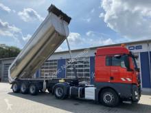 Semitrailer Meiller MHPS 44 /KISA3 ISO Auflieger Thermo 3 Achse flak begagnad