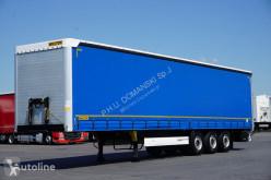 Semitrailer Wielton / FIRANKA / MULTI LOCK / XL / OŚ PODNOSZONA skjutbara ridåer (flexibla skjutbara sidoväggar) begagnad
