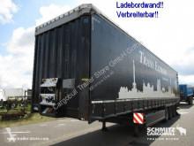Krone tautliner semi-trailer Curtainsider Standard Ladebordwand