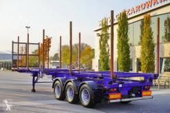 Návěs vůz na klády Dennison semi-trailer – log, stake, stretched
