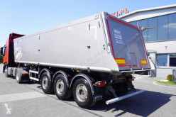 Návěs Mega MNL 35,5T tipper semitrailer stavební korba použitý