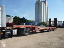 Nooteboom heavy equipment transport semi-trailer OSD Porte-engins