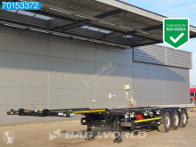 Kögel container semi-trailer S24-2 Ausziehbar 2x20-1x30-1x40ft.