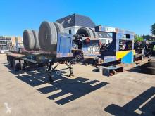 Semi remorque porte containers Trailor SPC32 Container chassis 40ft. Full Steel