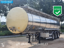 Semirremolque LAG 0-3-39 CN NL-Trailer 3 Comp ADR 32.600ltr cisterna productos químicos usado