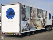 Van Eck GESLOTEN 2-AS SEMI MET STUUR-ASSEN semi-trailer used heavy equipment transport