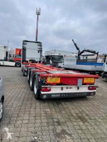 Návěs D-TEC nosič kontejnerů použitý