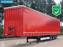Semitrailer Krone SD skjutbara ridåer (flexibla skjutbara sidoväggar) begagnad