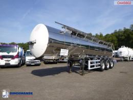 Semirimorchio cisterna trasporto alimenti General Trailers Food tank inox 28 m3 / 1 comp