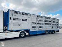 Semitrailer Pezzaioli 3 étages - 3 compartiments boskapstransportvagn begagnad