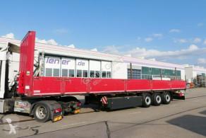 Krone SDP SDP 27/SATTEL BAUSTOFF RUNGEN / VERBREITERBAR !! semi-trailer used dropside flatbed