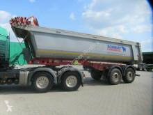 Semirremolque Schmitz Cargobull 18 cbm Stahlmulde halbrund,Lift,ALCOA LM,Cramaro volquete usado