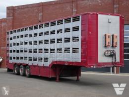 Semiremorca transport bovine Montull 5 deck - Water/Ventilation - 157.84M2 - Loadlift - Remote control