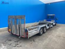 Semi reboque estrado / caixa aberta Veldhuizen semie Payload 6180 kg, Machine transport
