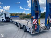 Naczepa Faymonville do transportu sprzętów ciężkich używana