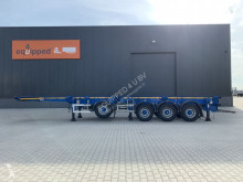 Semirimorchio Dennison Like new: 4 axles combichassis, 2 liftaxles, BPW-drumbrakes, MOT: 31/07/2022, 3x availabe, COC portacontainers usato