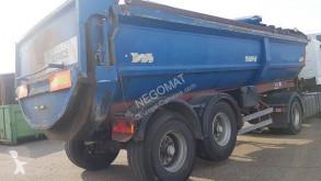 Semitrailer Cleri SBENNE FOND POUSSANT lastvagn bygg-anläggning begagnad