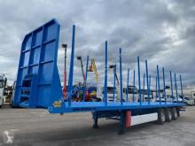 Trailer Krone Semi Reboque tweedehands houtvrachtwagen