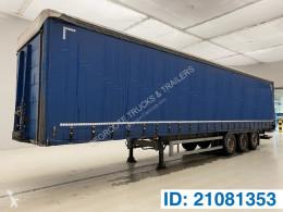 Semitrailer System Trailers Tautliner skjutbara ridåer (flexibla skjutbara sidoväggar) begagnad