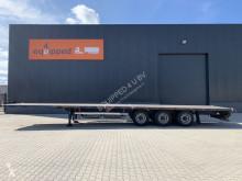 Groenewegen container semi-trailer 8 twistlocks / 2x20FT, hardhouten vloer, NL-trailer, APK 09/2022