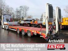 Naczepa Faymonville 3-Achs-Satteltieflader mit Hebebett platforma używana