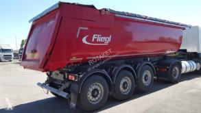 Semitrailer Fliegl Benne TP acier 27m3 flak ny