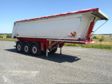 Stas Alu semi-trailer used construction dump