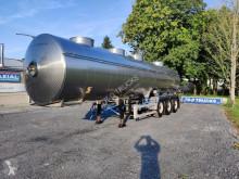 Semitrailer Magyar citerne en inox isotherme 4compartiments 29000L tank livsmedel begagnad