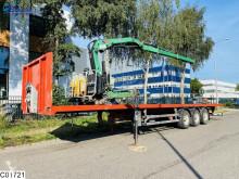 Полуприцеп Robuste Kaiser open laadbak Hiab crane платформа б/у