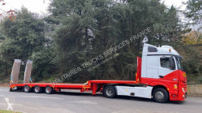 Semitrailer maskinbärare ACTM Surbaissée 3 essieux