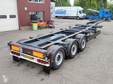 Kögel PORT 40 SIMPLEX 20 S 24-2 SAF - Discbrakes - Lift axle - 04/2022 APK (O732) semi-trailer used container