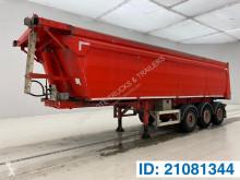 Semitrailer MOL 33 cub in alu flak begagnad